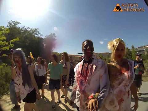 AOA : Agents Oranges Academy @ Zombie Walk Lyon 2014