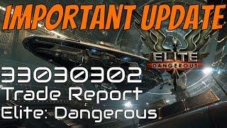 Elite: Dangerous - Trade Report Update