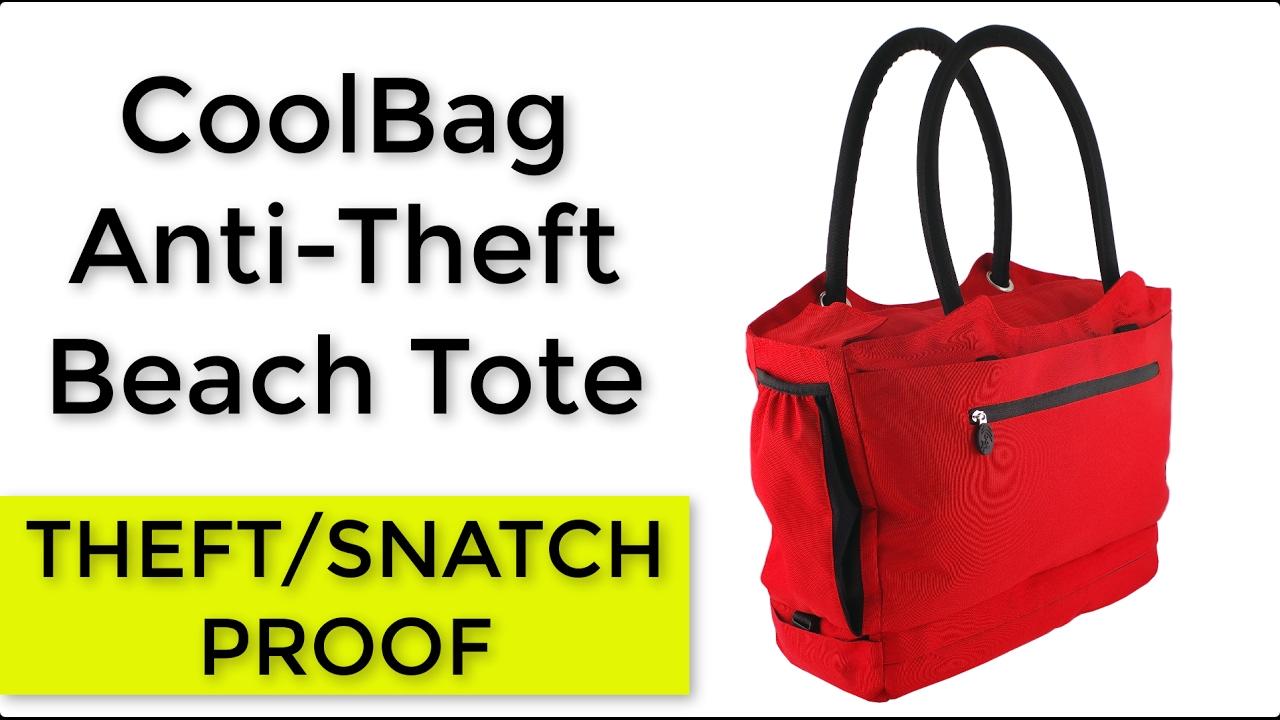 Coolbag Anti Theft Beach Bag Gen2