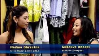 Repeat youtube video Making of a dress for Miss Nepal Earth Nagma Shrestha