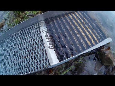 Sluice box GoldPro X250 - fine gold recovery sluice???