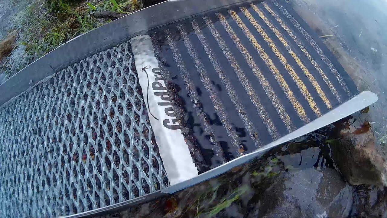 Sluice Box Goldpro X250 Fine Gold Recovery Sluice