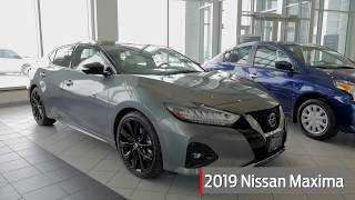 2019 Nissan Maxima Available Features