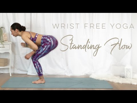 15 Minute Yoga For Strength | Wrist Free Standing Yoga Flow