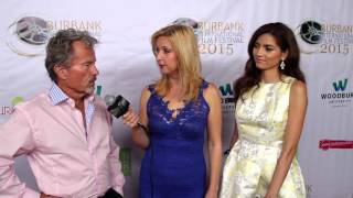 Red Carpet with Blanca Blanco and John Savage