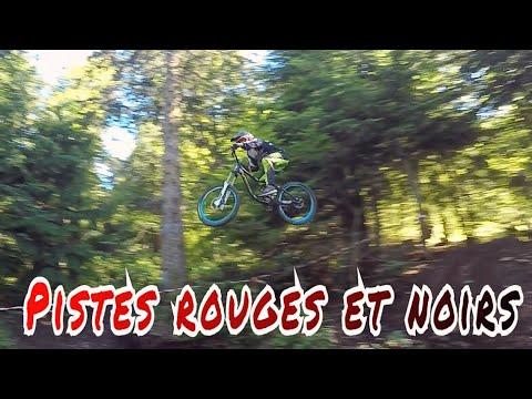 DH Bike Park Le Lioran // GROS PONEY SUR LA PISTE NOIR ! part 2
