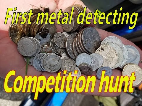 First competition metal detecting hunt with Topeka Treasure Hunters