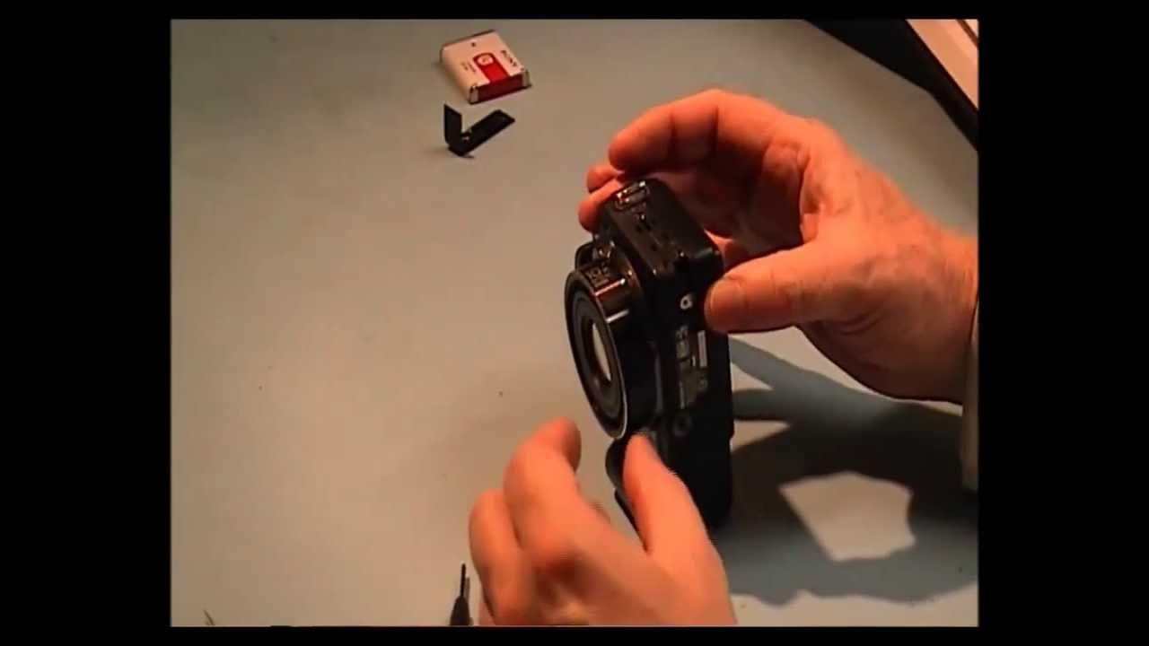 Sony DSC-H10 Repair video