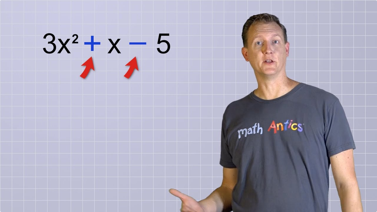 Algebra Basics: What Are Polynomials? - Math Antics
