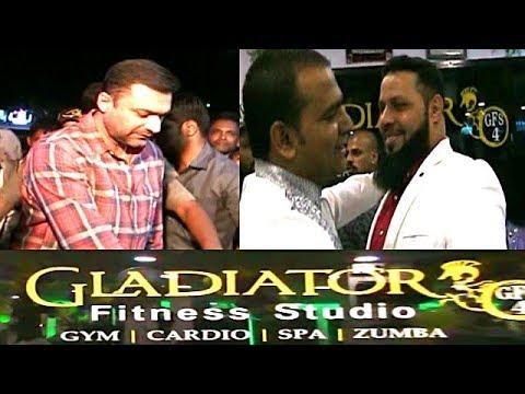Akbaruddin Owaisi And Esa Misri At Gladiator Fitness Gym