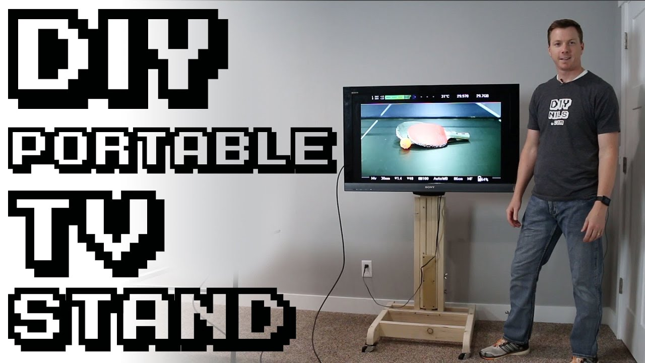 Diy Portable Tv Stand You