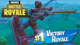 FORTNITE: I BOUGHT THE SKIN OF THE WOMAN BISCUIT AND MITEI WITH THE SNIPER!