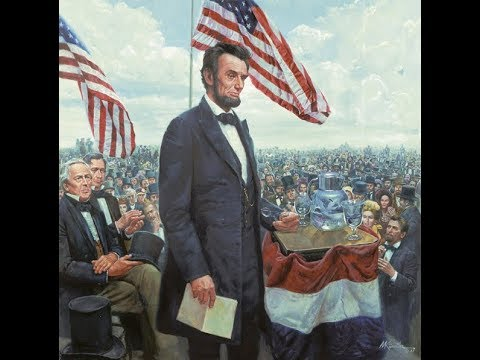 TDIH Nov.19th: Abraham Lincoln gettysburg address