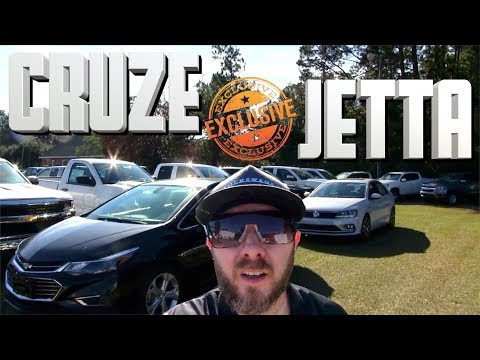 NEW 2018 VW JETTA GLI vs 2017 CHEVY CRUZE Premier | Review Exclusive Auto Vlog