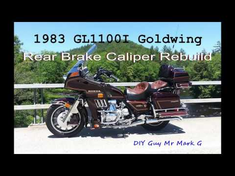 how to rebuild a motorcycle caliper