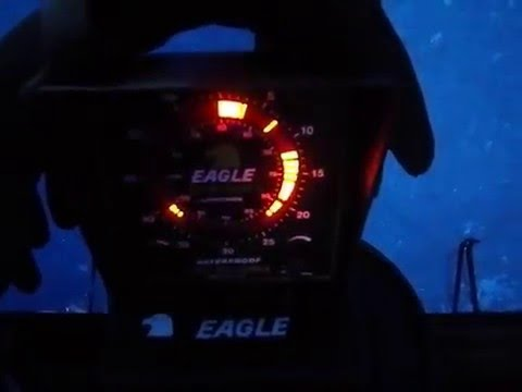 Vintage Eagle Silent Sixty Fish Finder Ice Fishing