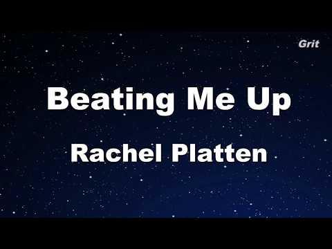 Beating Me Up - Rachel Platten  Karaoke 【No Guide Melody】Instrumental