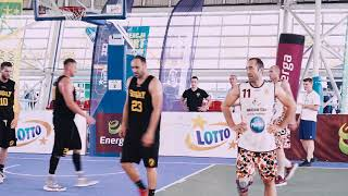 Mecz o 3 miejsce koszykówka 3x3 Ostrów Mazowiecka - 16.06.2018