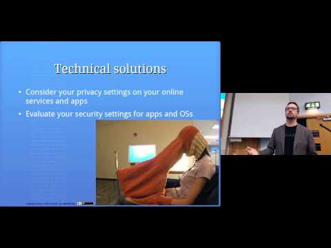 Personal Privacy and Security: Computer Security Lectures 2014/15 S2