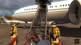 Airport Firefighters - The Simulation Gameplay