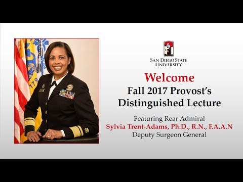 Fall 2017 Provost's Lecture Deputy Surgeon General Rear Admiral Sylvia Trent-Adams, Ph.D