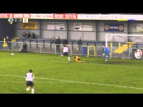 Havant & Waterlooville v East Thurrock Utd FA Trophy Nov 2014