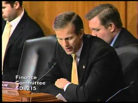 Thune Questions USTR Ron Kirk
