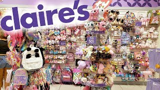 CLAIRE'S BUY THREE GET THREE FREE * SHOP WITH ME JULY 2019