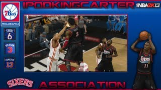 NBA 2K13 Association: Philadelphia 76ers - Ep. 7 | Why Would You Trade Jrue Holiday For Nerlens Noel