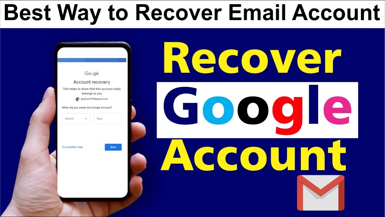How to Recover Forgotten Google Account Password | Google account recovery