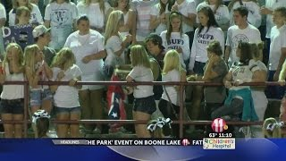 Confederate Flag Pole Snapped In Half At High School Football Game In Greene Co.