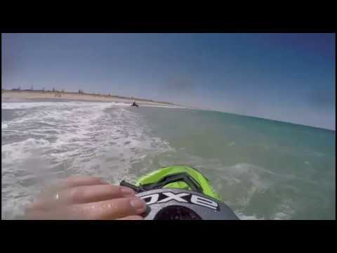 wave jumping on sea doo sparks funny cats pranks