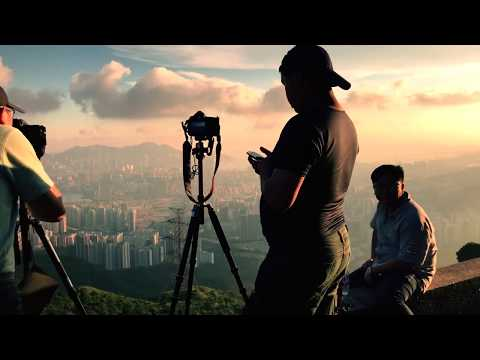 Kowloon Peak - Hong Kong from an unusual angle.  I love hk Series