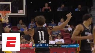 Full Summer League Highlight: Trae Young leads Atlanta Hawks' remarkable comeback to advance | ESPN