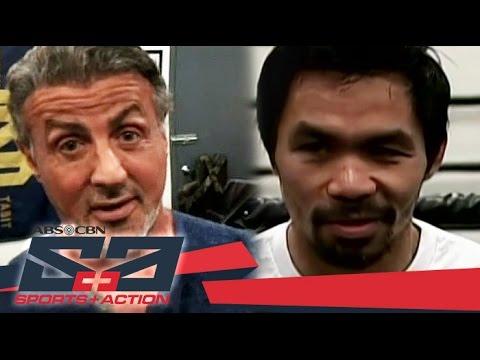 The Score: Sylvester Stallone compares Pacquiao to Rocky Balboa
