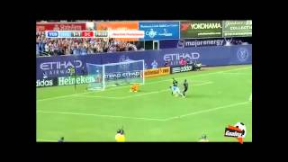 Andrea Pirlo bags 1st MLS Assist Setting Up David Villa To Score For  Newyork City Vs DC Unied