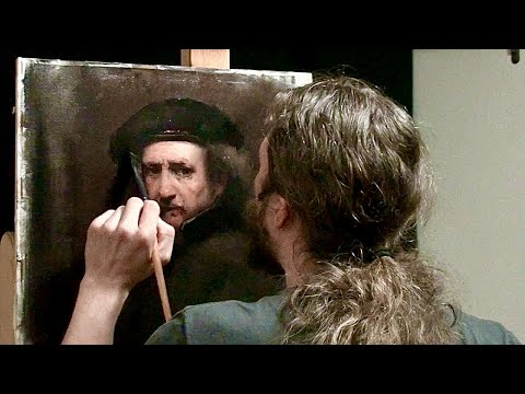 Matthew Almy Paints a Rembrandt   Speed Painting