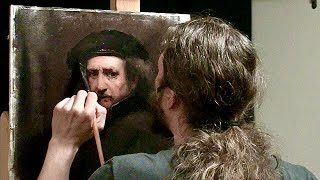 Matthew Almy Paints a Rembrandt | Speed Painting
