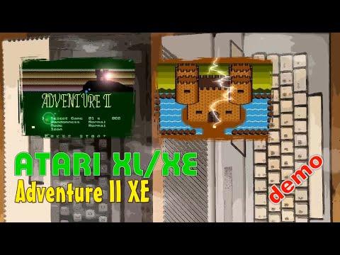 Atari XL/XE -=Adventure II XE=- demo v.020520
