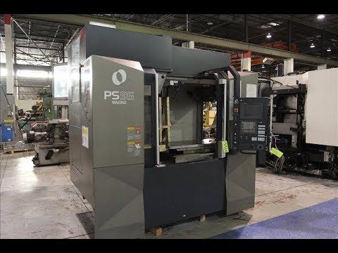 makino ps95 cnc vertical machining center youtube rh youtube com Makino V33 Makino A61