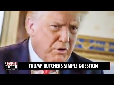 Trump BUTCHERS Axios Interview