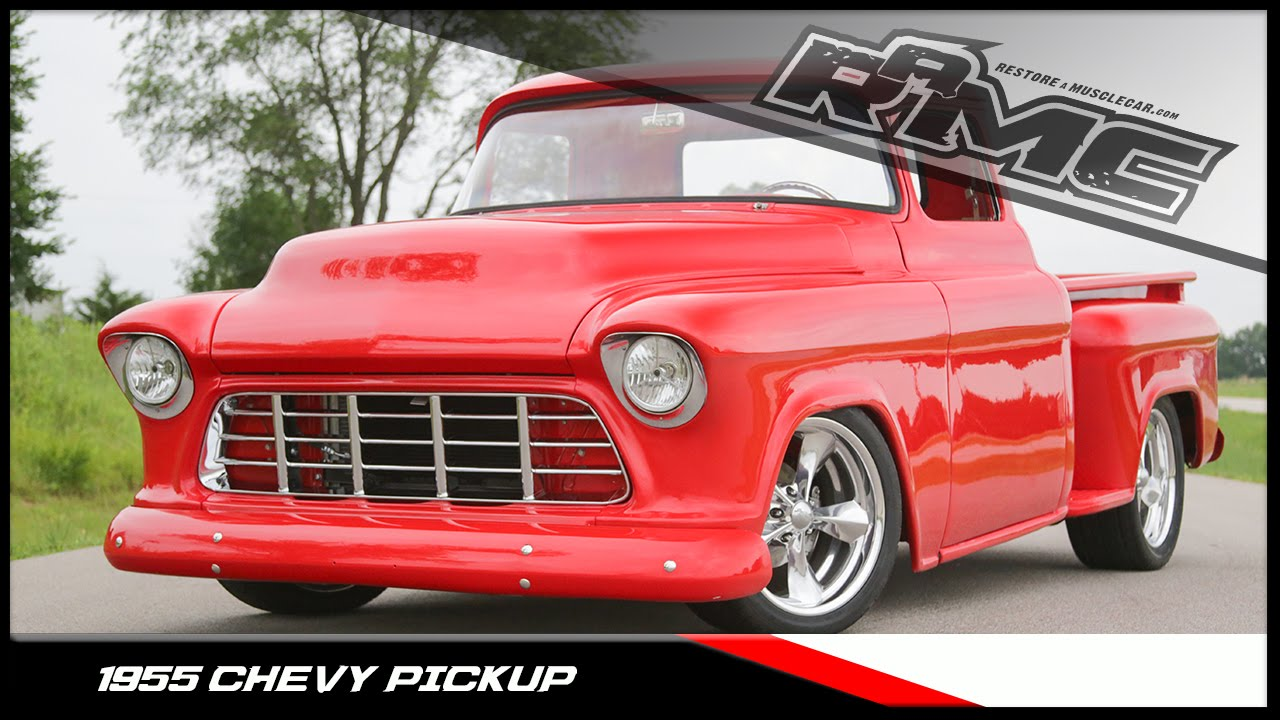 1955 Chevrolet 3100 Youtube 2nd Series Chevy Truck Paint Colors