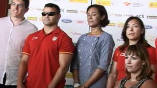La consellera de Turismo presenta los 26 deportistas para los juegos paraolímpicos