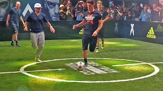 Sean Garnier & Herrera vs Zidane & Enzo ✖ Football Skill Match thumbnail