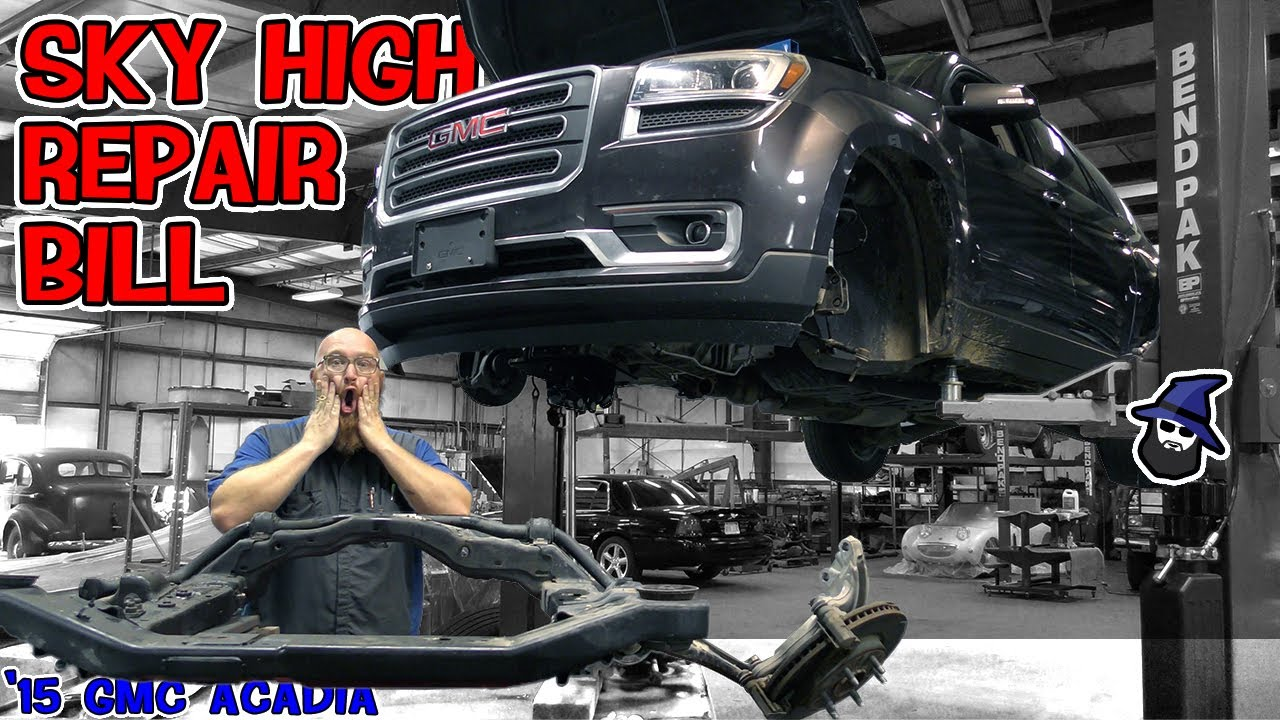 Used car insanity in the CAR WIZARD's shop! Why did the huge repair get approved on this '15 Acadia?