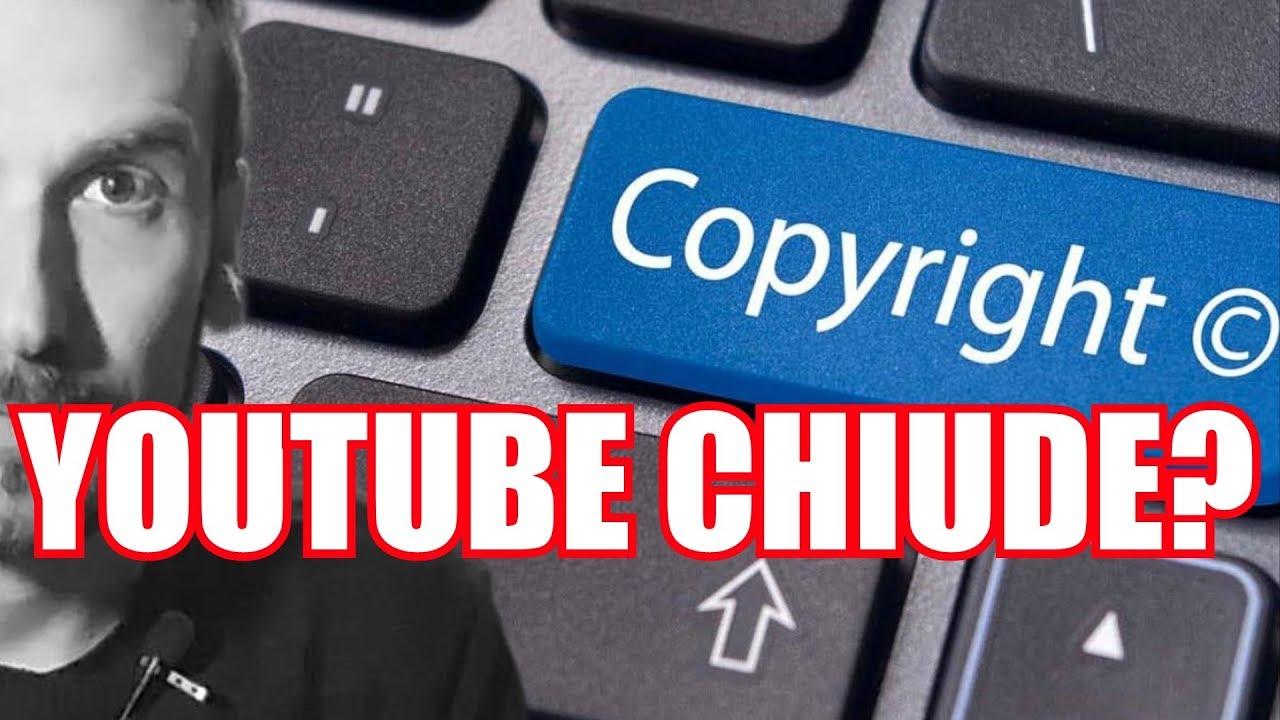 Risultati immagini per youtube chiude