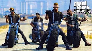 GTA V - RANDOM & FUNNY MOMENTS 60 (Bikers, Unexpected Glitches!)
