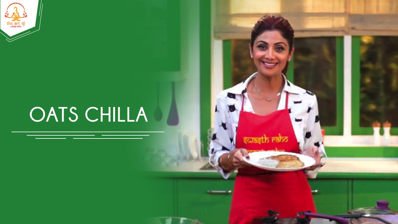 Oats chilla shilpa shetty kundra healthy recipes the art of youtube premium forumfinder Choice Image