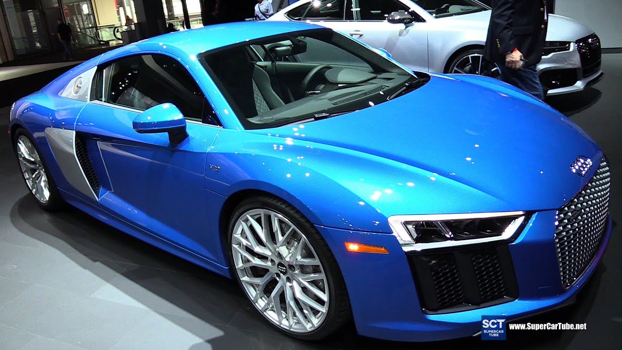 2017 audi r8 v10 exterior and interior walkaround 2016. Black Bedroom Furniture Sets. Home Design Ideas