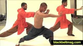 "7-Minute Shaolin Workout With Shaolin Monk Wang Bo: ""Internal Exercises"""